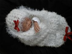 Christmas Cocoon for NB Baby Photography Prop or Reborn Doll Display | eBay