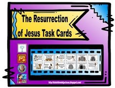 Resurrection of Jesus Task Cards Freebie