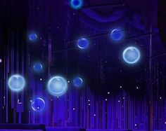 Glow in the Dark Bubbles