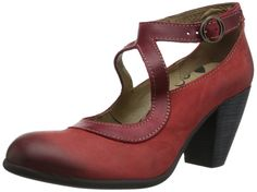 A bit too clunky of a heel, I think, but otherwise cute.  Amazon.com: FLY London Women's Alex Pump,Cherry/Red,40 EU/9 M US: Clothing
