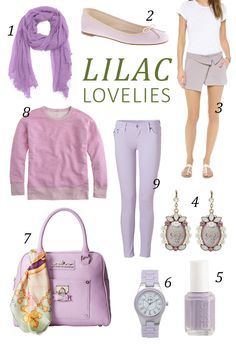 Spring 2014 Trends: Lilac Lovelies