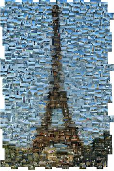 ♥ Eiffel tower mosaic