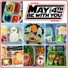 Bento Bloggers & Friends: May The Fourth Be With You! Star Wars bento blog hop!