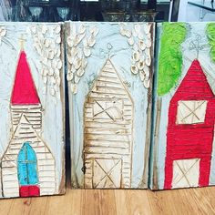 Alex Ladner has been restocked at Kademi! We have different sized church, barn, and cross paintings in various beautiful colors! Shown are 1ft x 4ft - $66! #kademi #kademihomedecor #alexladner #madeinmississippi #supportlocal