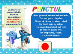 S.T.R.U.M.F.: Planse semne de punctuatie Visual Perceptual Activities, Geography, Smurfs, Projects To Try, Baseball Cards, School, Centre, Literature, 1st Grades