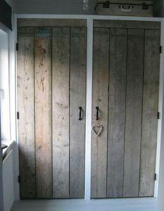 Foto: Mooie kastdeuren. Voor meer informatie, ga naar steigerhout.nu & facebook. . Geplaatst door jrom op Welke.nl