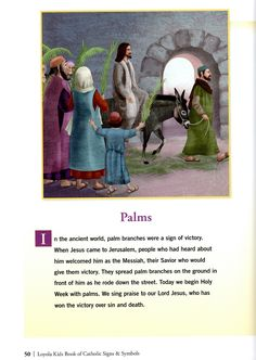 Calendar matters Bible Story Book, Bible Stories, Our Lady Of Sorrows, Palm Sunday, Holy Week, Lent, My Books, Religion, Calendar