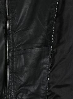 Černý dámský kožený křivák KARA Arcone