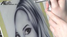Airbrush Effects Episode 13 Haare