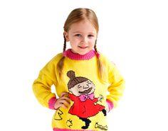 Pikku Myy -neulepaita (104-128 cm) SK 4/14. What To Make, Little Ones, Crochet, Sweaters, Kids, Inspiration, Fashion, Amigurumi, Crochet Hooks