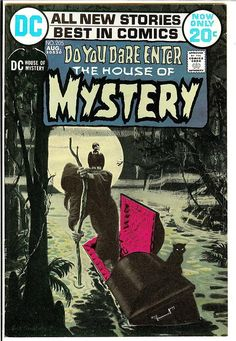 House Of Mystery #205  Pencils: Jack Sparling Inks: Jack Sparling
