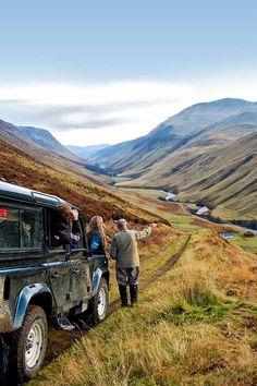 Scottish Estates Land Rover Safaris - Atholl Estates