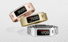 Garmin Vivofit2: The Fitness Tracker You'll Want to Wear Everywhere: If you've ever hated how your fitness tracker looked with your favorite outfit, your sartorial troubles may be over.