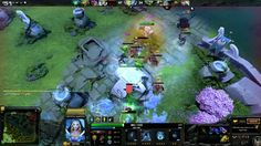 DOTA 2 - Crystal Maiden Support Gameplay - Online 5 vs 5 Multiplayer