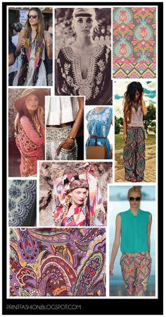 Gypsy nomad Boho fashion trend