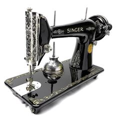 Singer Model 66 Celtic Style Sewing Machine Restoration Decals 40730 At Any Cost Sewing (1930-now)