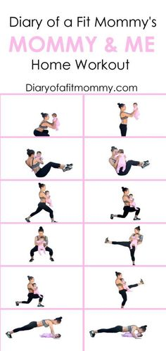 Mommy and me workouts #noexcuses