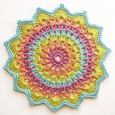 10+ best ideas about Crochet Mandala