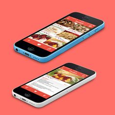 Cook Book App Concept by Lorena Garcia, via Behance