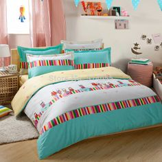 Latest hot sell100% cotton twill printed 4 pcs bed set bedding sets duvet/quilt cover Bedding sheet Sacrifice promotion $76.00