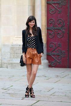 Primark Body, Zara Shorts, Mango Blazer, Zara Heels, Zara Bag
