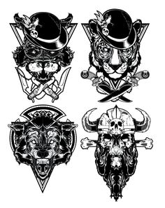 Various Illustrations    Designed by Hydro74