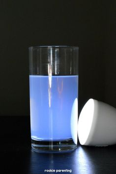 Simple science experiment and explanations for the classic question on natural phenomenon -- Why is the sky blue for kids.