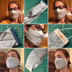 Diy Face Mask Sewing Discover Simple Mask pattern - a mask with great coverage and fit and very comfortable to wear - approved by doctors and nurses Easy Face Masks, Diy Face Mask, Sewing Patterns Free, Free Sewing, Free Pattern, Pattern Sewing, Mask Template, Quilt Sizes, Diy Mask