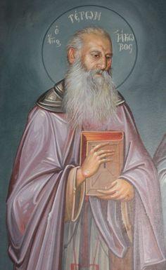 Πνευματικοί Λόγοι: Η εμφάνιση της Αγίας Παρασκευής στον Άγιο Ιάκωβο Τ...