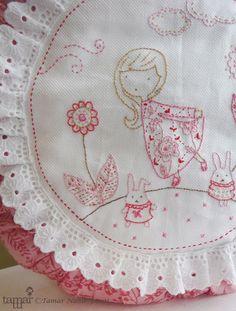 Embroidery Pattern by TamarNahirYanai