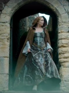 Jodie Comer as Elizabeth of York in The White Princess - 2017 Elizabeth Edwards, Elizabeth Of York, Princess Elizabeth, White Princess Dress, Period Costumes, Movie Costumes, Elizabeth Woodville, Philippa Gregory, Jodie Comer