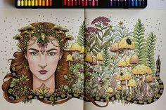 Dokončeno :-) #dagdrömmar #hannakarlzon #coloring #coloringbook…