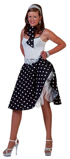 Awesome Costumes Sock Hop Skirt Costume just added...