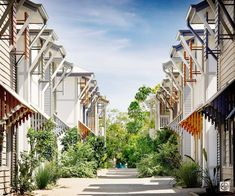 A beautiful lane of townhouses clad in Primeline Newport weatherboard by James Hardie James Hardie, Home Reno, House Front, Cladding, Newport, Townhouse, House Ideas, New Homes, Range
