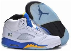 97dd1dfd8d58 Find Nike Air Jordan 5 Mens Laney White Black Varsity Maize Royal Shoes New  online or in Footlocker. Shop Top Brands and the latest styles Nike Air  Jordan 5 ...