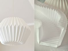 Heart Wrought: DIY Origami Lamp