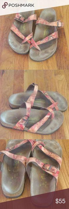 Birkenstock sandals Birkenstock sandals great condition. Sz 40 euro Birkenstock Shoes Sandals
