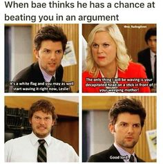 Whenever Ben says good lord I just smile and it's amazing. Parks And Rec Memes, Parks And Recreation Ben, Funny Memes, Hilarious, Jokes, Parcs And Rec, Celebrity Travel, Have A Laugh, Comedy Central