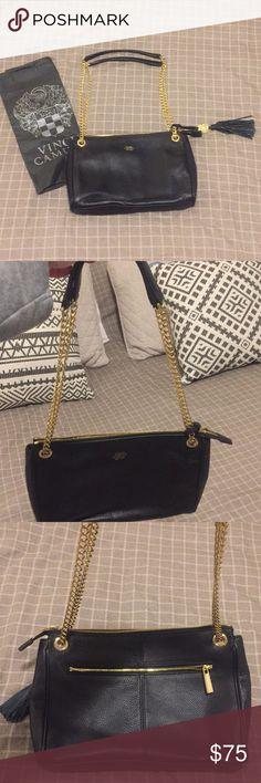 I just added this listing on Poshmark: New Black Leather Vince Camuto Purse. #shopmycloset #poshmark #fashion #shopping #style #forsale #Vince Camuto #Handbags