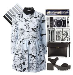 #305 by madam-kate on Polyvore featuring polyvore fashion style Carven Marni Balenciaga River Island NARS Cosmetics Beauty Is Life Cowshed Aesop C. Wonder women's clothing women's fashion women female woman misses juniors