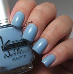 The Clockwise Nail Polish: Kinetics KP 275 Blue Jasmine