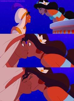 The 12 Most Romantic Disney Song Of All Time http://wnli.st/1Ky6PPq Aladdin and Jasmine