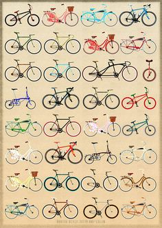The Beautiful Bicycle Poster - Kickstarter