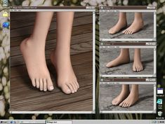👽 DEFAULT FEET - bgc - custom icons - default \ non-default \ blend files - all ages, genders, races - 60 additional nail colors - compatible with HQ - recommend use default slider - terms of. Sims 4 Teen, My Sims, Sims Cc, Sims 4 Body Mods, Sims Mods, Sims 4 Nails, Sims 4 Collections, The Sims 4 Skin, Sims 4 Studio