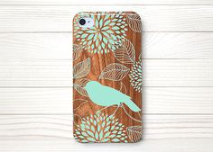 Bird on Wood iphone 5 case iphone 5s case iphone 5c by icaseycov, $13.77