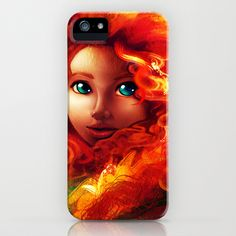 Brave iPhone Case by Andrea Parry - $35.00