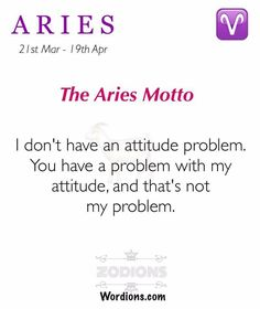 Aries- LOL sounds right. Aries Taurus Cusp, Aries Zodiac Facts, Aries Love, Aries Astrology, Aries Sign, Aries Horoscope, Zodiac Quotes, Short Friendship Quotes, Aries Woman Quotes