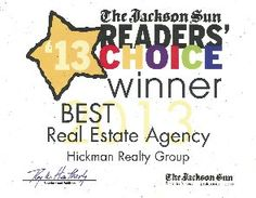 Jackson Real Estate | Medina Tennessee Homes | Milan TN Real Estate Listings - Call Alan Castleman at Hickman Realty Group for all your Real Estate needs