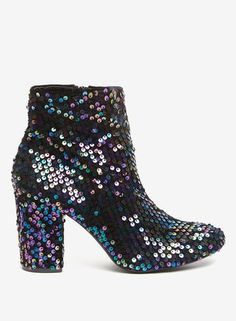 Pink 'Aruba' metallic kitten heeled boots with approximate heel height of Fabric. Multi Coloured Boots, Kitten Heel Boots, Foot Locker, Petite Outfits, Short Boots, Ankle Booties, Heeled Boots, Aries, Fashion Online