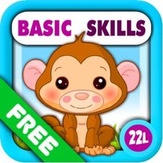 Preschool All-In-One Basic Skills: Adventure with Toy Train Vol 1: Learning Fun Educational Kids Games (letters, numbers, colors, shapes, pa...
